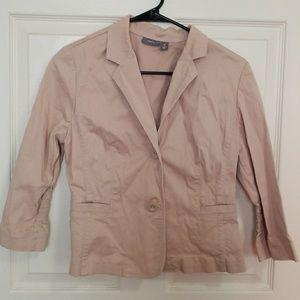 Womens blazer size M khaki color